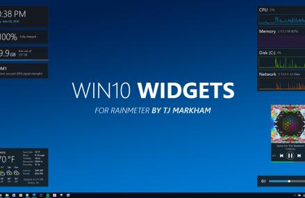 Windows 10 gadgets på din bärbara dator
